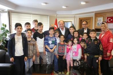 Ereğlili Çocuklardan Başkan Oprukçu'ya Ziyaret