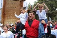 ULUSLARARASI OLİMPİYAT KOMİTESİ - Milli Sporcular, Olimpik Günde Çocuklarla Bir Araya Geldi