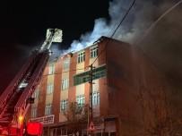 Sultanbeyli'de Yangın Paniği