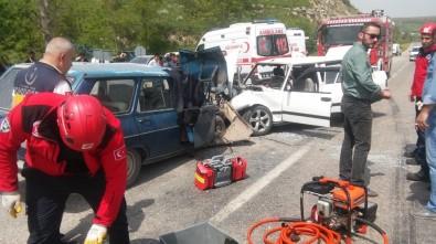 Balıkesir'de Kaza Açıklaması 1 Ölü, 6 Yaralı