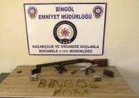 Bingöl'de Silah Kaçakçılığı Operasyonu Açıklaması 2 Tutuklama
