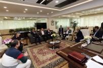 FETHI YAŞAR - Gimat Yönetiminden Başkan Yaşar'a Hayırlı Olsun Ziyareti