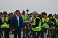 Sinop'ta Geleneksel Yeşilay Bisiklet Turu'nun 9.'Su Düzenlendi