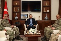 3. Ordu Komutanı Orgeneral İsmail Serdar Savaş, Vali Pehlivan'ı Ziyaret Etti