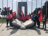 TARİHİ YARIMADA - Aliağa'dan Bugüne Kadar 14 Bin Kişi Şehitlikleri Ziyaret Etti