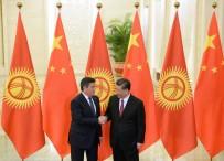 ÇİN KOMÜNİST PARTİSİ - Kırgızistan Lideri Ceenbekov, Jinping İle Görüştü