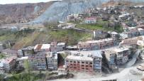 DİNAMİT - Maden'de Heyelan Riski Nedeniyle 15 Ev Ve İş Yeri Tahliye Edildi