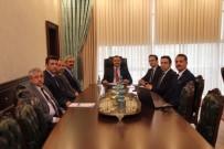 Maden İçin, Vali Kaldırım Başkanlığında Toplantı Yapıldı