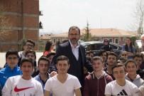 MEHMET KASAPOĞLU - Mahir İz Anadolu İmam Hatip Lisesi'ne Bakan Kasapoğlu'ndan Ziyaret