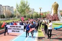 SAĞLIK MESLEK LİSESİ - 'Sağlıklı Yaşam Yürüyüşü' Keçiören'de Yapıldı