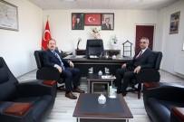 Vali Pehlivan, İl Genel Meclis Başkanı Süleyman Ağın'ı Ziyaret Etti