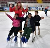 BUZ PATENİ - Engelli Sporcular Özel Etkinlikte Buluştu