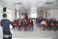 MADDE BAĞIMLILIĞI - Gençlik Merkezi'nde Eğitmen Ve Velilere Madde Bağımlılığı Bilgilendirmesi