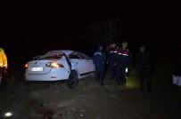 Konya'da Otomobil Takla Attı Açıklaması 1 Ölü, 4 Yaralı