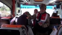 Mardin'de Yolcular Kanser Hastalığı Hakkında Bilgilendirildi