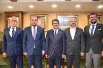 İSMAIL BILEN - Milletvekillerinden Başkan Çelik'e Tebrik