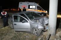 Otomobil Şarampole Düştü Açıklaması 1'İ Çocuk 6 Yaralı