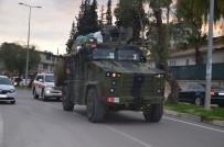 ZIRHLI ARAÇLAR - Suriye Sınırına Komando Ve Zırhlı Araç Sevkiyatı