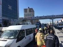 TRAFİK YOĞUNLUĞU - Tem Bağlantı Yolunda Trafiği Kilitleyen Kaza