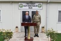 PİYADE ALBAY - Vali Soytürk 1'İnci Hudut Alayını Ziyaret Etti