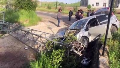 Adıyaman'da Otomobil İle Minibüs Çarpıştı Açıklaması 4 Yaralı