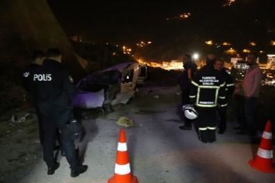 Artvin'de Trafik Kazası Açıklaması 1 Ölü, 1 Yaralı