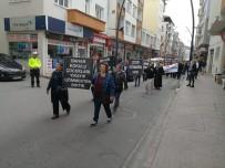 Bulancak'ta Çocuk İstismarına Karşı Tepki Yürüyüşü Düzenlendi