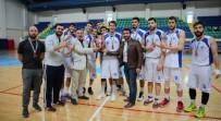 İZMIR EKONOMI ÜNIVERSITESI - DPÜ Erkek Basketbol Takımı 1. Lig'i Dördüncü Tamamladı