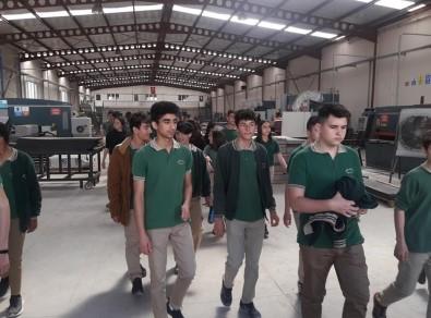 Foça'da Öğrenciler, Açık Cezaevindeki İşletmeleri Gezdi