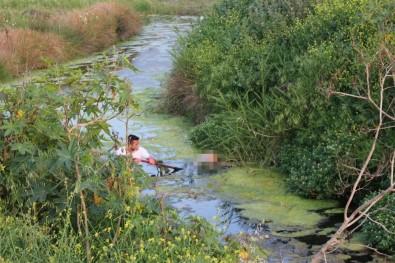 İskenderun'da Atık Su Kanalında Bir Erkek Cesedi Bulundu
