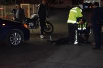 Kadın Sürücünün Çarptığı Yaya Ağır Yaralandı