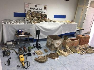 Konya'da Sahte Tarihi Eser Operasyonu Açıklaması 10 Gözaltı