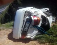 Malatya'da Otomobil Şarampole Uçtu Açıklaması 1 Ölü, 1 Yaralı