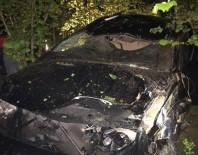 Otomobiliyle Uçuruma Yuvarlandı, Burnu Bile Kanamadı
