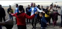 DAVUL ZURNA - Rakipler Ciriti Bırakıp Bar Oynadı