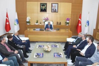 SGB Yönetiminden Başkan Yüce'ye Ziyaret