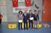 KUPA TÖRENİ - Spor Tırmanışı Türkiye Birinciliği Müsabakaları