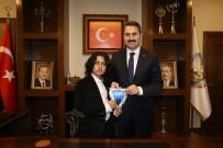 Tokatlı Küçük Osman Gazi, Başkan Eroğlu'nu Ziyaret Etti