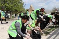 Üniversite Öğrencileri Kapadokya'da Çevre Temizliği Yaptı
