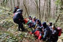 SOĞUCAK - 84 Personelin Katılımıyla 'Doğada Arama Kurtarma Tatbikatı' Gerçekleştirildi