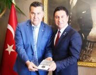 MEHMET KOCADON - Bodrum Belediye Başkanı Aras Görevi Kocadon'dan Devraldı