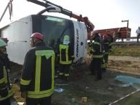 Denizli'deki Otobüs Kazasında 2 Kişi Ölürken, Yaralı Sayısı 30'A Yükseldi