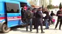 KÖY YOLLARI - Edirne'de Düzensiz Göçe Karşı Önlemler Artırıldı