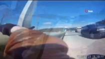 (Özel) Emniyet Şeridine Giren Aracın Motorcuya Çarptığı Kaza Kamerada