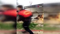 ISPARTA BELEDİYESİ - Samanlıkta Başlayan Yangın Eve Sıçradı