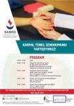 GAZI ÜNIVERSITESI - SANKO Üniversitesi'nde 'Karpal Tünel Sendromu' Tartışılacak