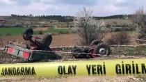 Uşak'ta Traktör Devrildi Açıklaması 2 Ölü