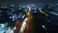 FATIH SULTAN MEHMET KÖPRÜSÜ - Atatürk Havalimanı Taşınma Sürecinde Yollar Trafiğe Kapatıldı
