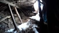 Bingöl'de Kar, Ahırı Çökertti