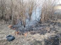 Daday'da Sazlıkta Çıkan Yangın Söndürüldü